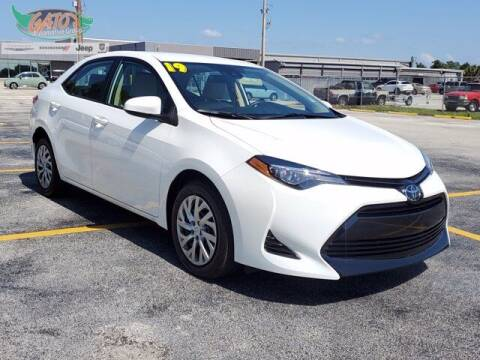 2019 Toyota Corolla for sale at GATOR'S IMPORT SUPERSTORE in Melbourne FL