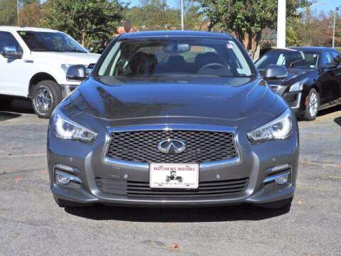 2017 Infiniti Q50 for sale at Auto Finance of Raleigh in Raleigh NC