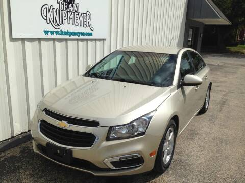 2015 Chevrolet Cruze for sale at Team Knipmeyer in Beardstown IL