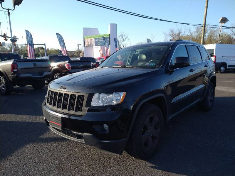 2013 Jeep Grand Cherokee for sale at P J McCafferty Inc in Langhorne PA
