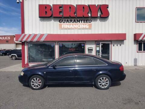 2001 Audi A6 for sale at Berry's Cherries Auto in Billings MT