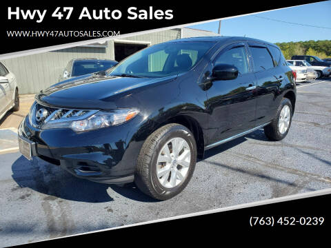 2013 Nissan Murano for sale at Hwy 47 Auto Sales in Saint Francis MN