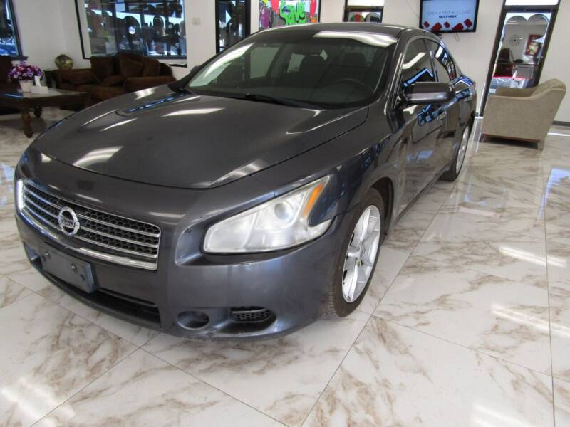 2011 Nissan Maxima for sale at Dealer One Auto Credit in Oklahoma City OK
