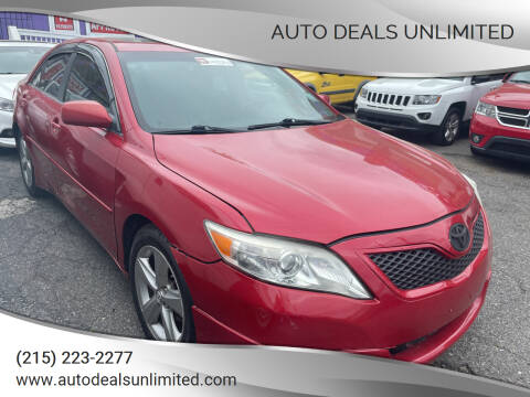 2011 Toyota Camry for sale at AUTO DEALS UNLIMITED in Philadelphia PA
