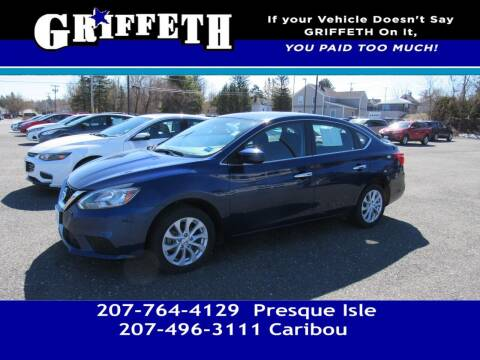 2018 Nissan Sentra for sale at Griffeth Mitsubishi - Pre-owned in Caribou ME