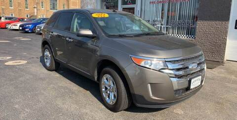 2014 Ford Edge for sale at KUHLMAN MOTORS in Maquoketa IA