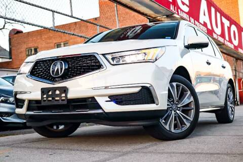 2017 Acura MDX for sale at HILLSIDE AUTO MALL INC in Jamaica NY