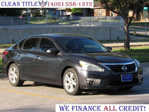 2013 Nissan Altima for sale at NY AUTO SALES in Omaha NE