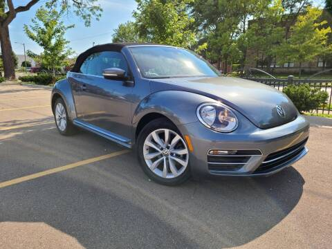2017 Volkswagen Beetle Convertible for sale at Dymix Used Autos & Luxury Cars Inc in Detroit MI