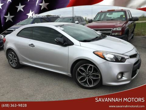 2015 Kia Forte Koup for sale at Savannah Motors in Cahokia IL