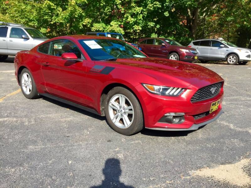 2015 Ford Mustang for sale at Bladecki Auto LLC in Belmont NH