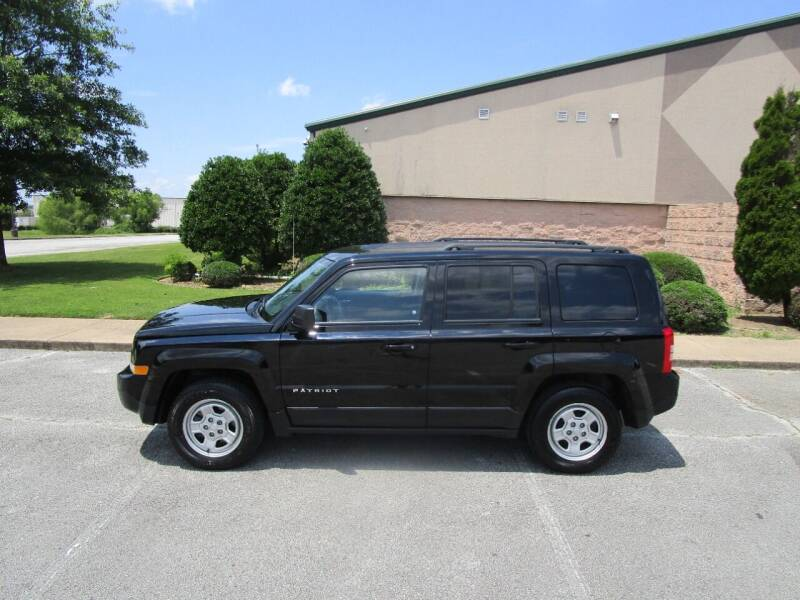 2017 Jeep Patriot for sale at JON DELLINGER AUTOMOTIVE in Springdale AR