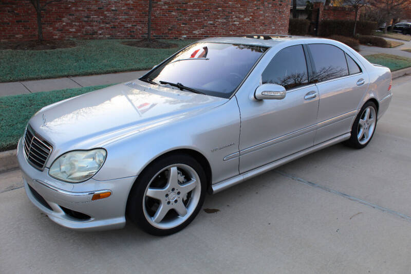2005 Mercedes-Benz S-Class for sale at CANTWEIGHT CLASSICS in Maysville OK