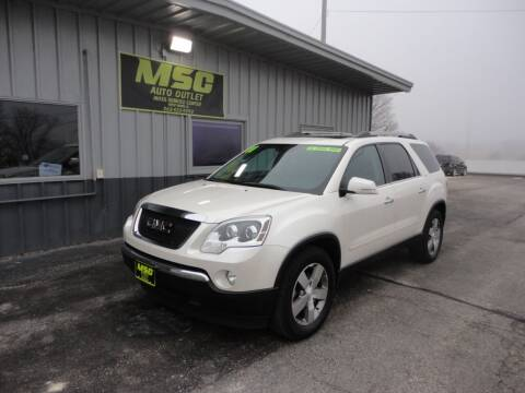 2011 GMC Acadia for sale at Moss Service Center-MSC Auto Outlet in West Union IA