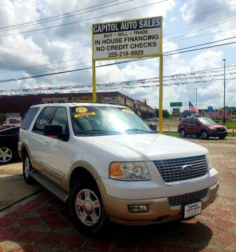 2006 Ford Expedition for sale at CAPITOL AUTO SALES LLC in Baton Rouge LA
