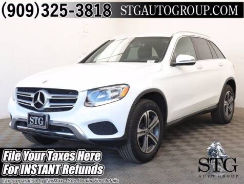 2018 Mercedes-Benz GLC for sale at STG Auto Group in Montclair CA