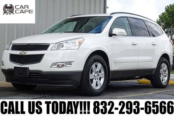 2012 Chevrolet Traverse for sale at CAR CAFE LLC in Houston TX