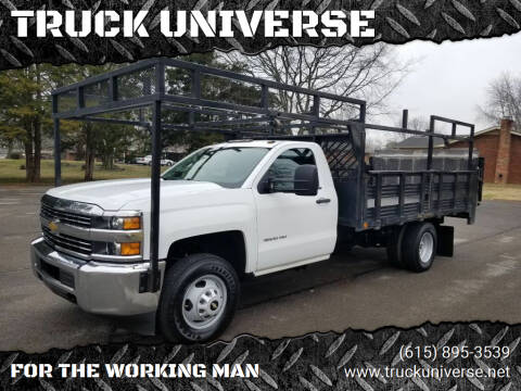 2015 Chevrolet Silverado 3500HD for sale at TRUCK UNIVERSE in Murfreesboro TN