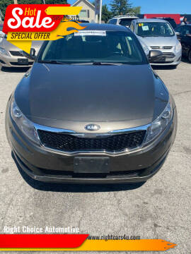 2013 Kia Optima for sale at Right Choice Automotive in Rochester NY