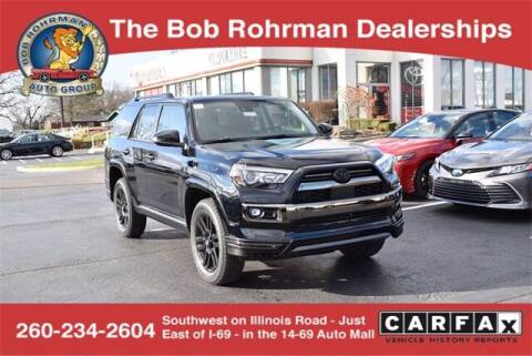 2021 Toyota 4Runner for sale at BOB ROHRMAN FORT WAYNE TOYOTA in Fort Wayne IN