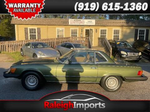 1980 Mercedes-Benz 450 SL for sale at Raleigh Imports in Raleigh NC