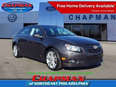 2014 Chevrolet Cruze for sale at CHAPMAN FORD NORTHEAST PHILADELPHIA in Philadelphia PA