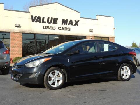 2011 Hyundai Elantra for sale at ValueMax Used Cars in Greenville NC