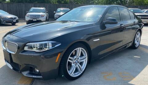 2014 BMW 5 Series for sale at DYNAMIC AUTO GROUP in Houston TX