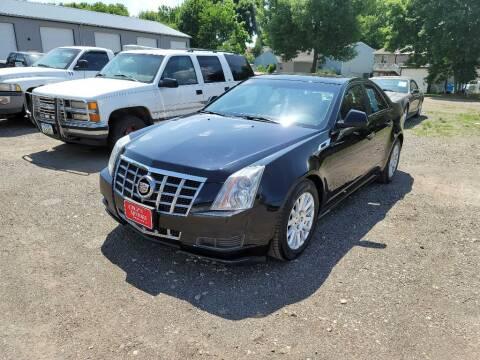2012 Cadillac CTS for sale at CRUZ'N MOTORS in Spirit Lake IA