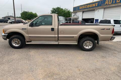 1999 Ford F-250 Super Duty for sale at WF AUTOMALL in Wichita Falls TX