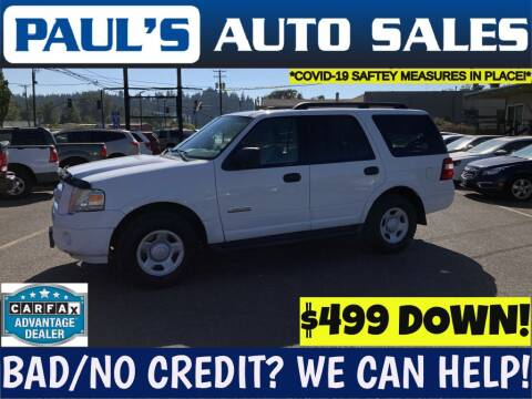 2008 Ford Expedition for sale at Paul's Auto Sales in Eugene OR