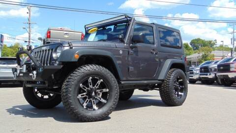 2016 Jeep Wrangler for sale at Tennessee Imports Inc in Nashville TN