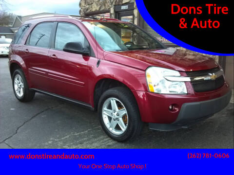 2005 Chevrolet Equinox for sale at Dons Tire & Auto in Butler WI