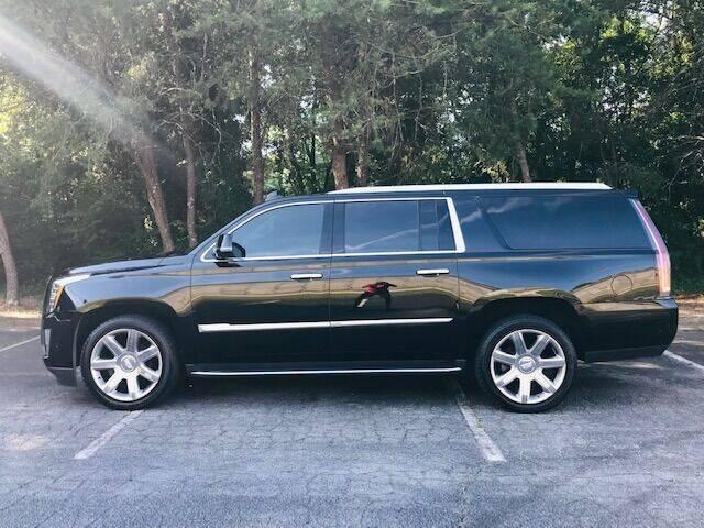2020 Cadillac Escalade ESV for sale at RPM Motorsports Of Atlanta in Atlanta GA