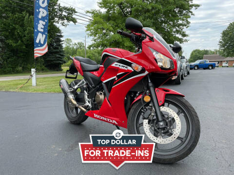 2017 Honda CBR300RH for sale at Woolley Auto Group LLC in Poland OH