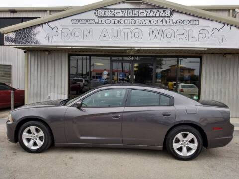 2013 Dodge Charger for sale at Don Auto World in Houston TX