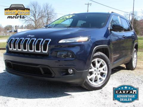 2015 Jeep Cherokee for sale at High-Thom Motors in Thomasville NC