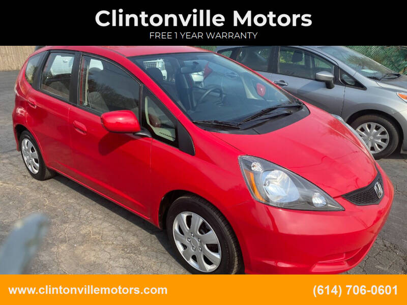 2012 Honda Fit for sale at Clintonville Motors in Columbus OH