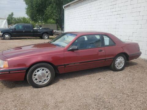 1988 Ford Thunderbird for sale at PYRAMID MOTORS - Fountain Lot in Fountain CO