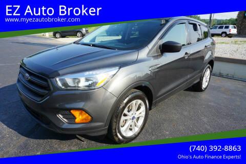 2017 Ford Escape for sale at EZ Auto Broker in Mount Vernon OH