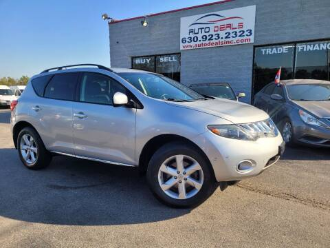 2009 Nissan Murano for sale at Auto Deals in Roselle IL