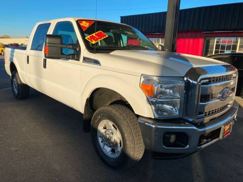 2012 Ford F-250 Super Duty for sale at Top Line Auto Sales in Idaho Falls ID