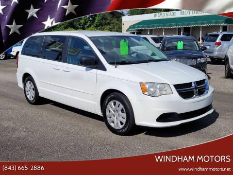 2014 Dodge Grand Caravan for sale at Windham Motors in Florence SC