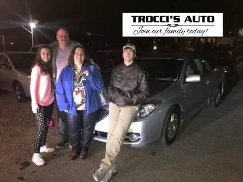 2007 Toyota Yaris for sale at Trocci's Auto Sales in West Pittsburg PA