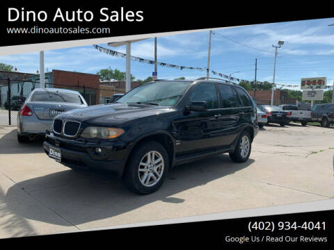 2004 BMW X5 for sale at Dino Auto Sales in Omaha NE