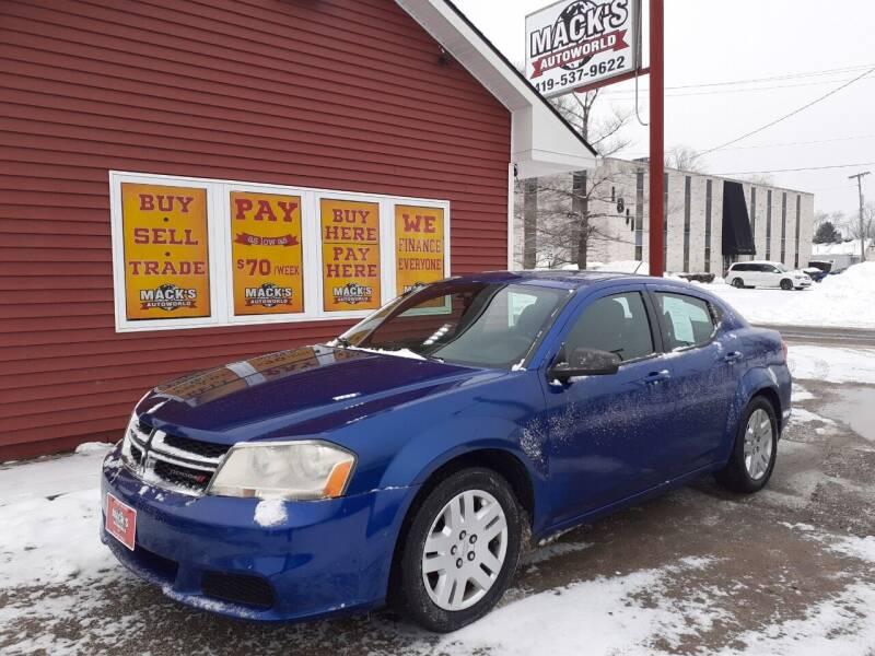 2012 Dodge Avenger for sale at Mack's Autoworld in Toledo OH
