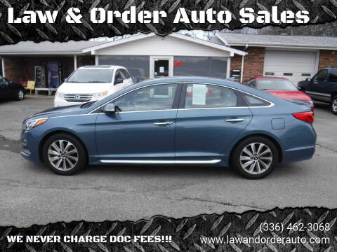 2015 Hyundai Sonata for sale at Law & Order Auto Sales in Pilot Mountain NC
