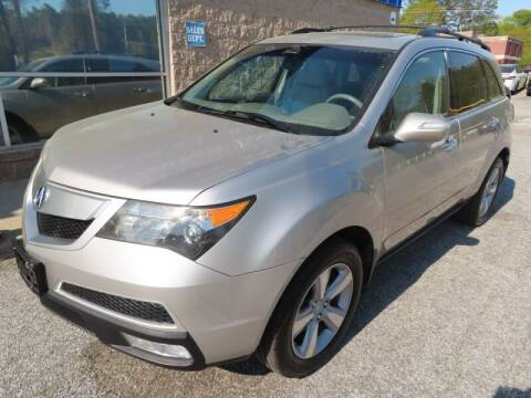 2011 Acura MDX for sale at Southern Auto Solutions - 1st Choice Autos in Marietta GA