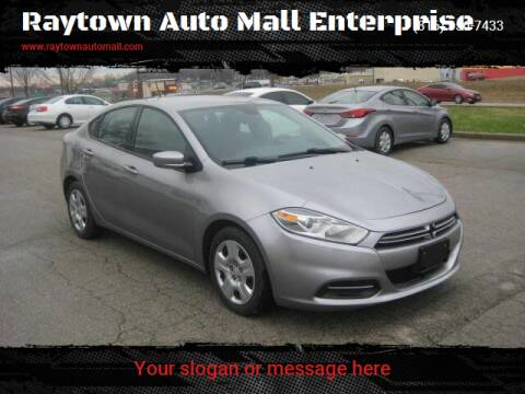 2016 Dodge Dart for sale at Raytown Auto Mall Enterprise in Raytown MO