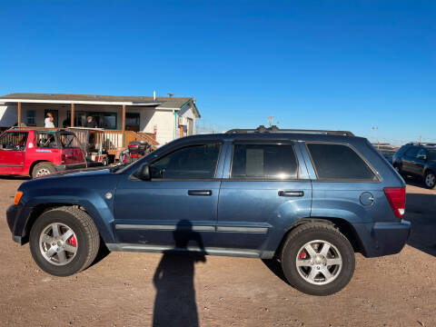 2009 Jeep Grand Cherokee for sale at PYRAMID MOTORS - Fountain Lot in Fountain CO